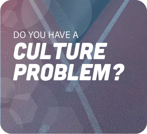 Geometric graphic asking if you have a culture problem
