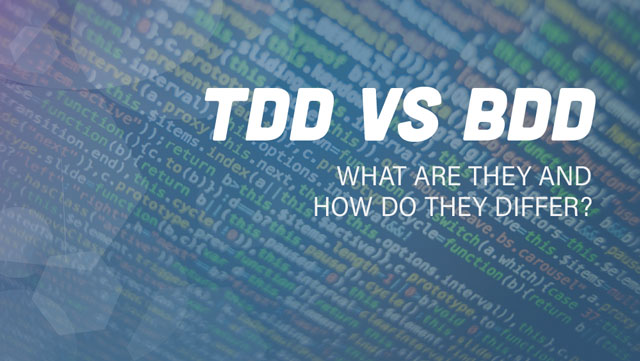 TDD vs BDD